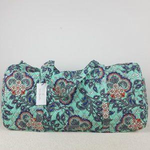 Vera Bradley Large Duffel Bag Fan Flowers NWT